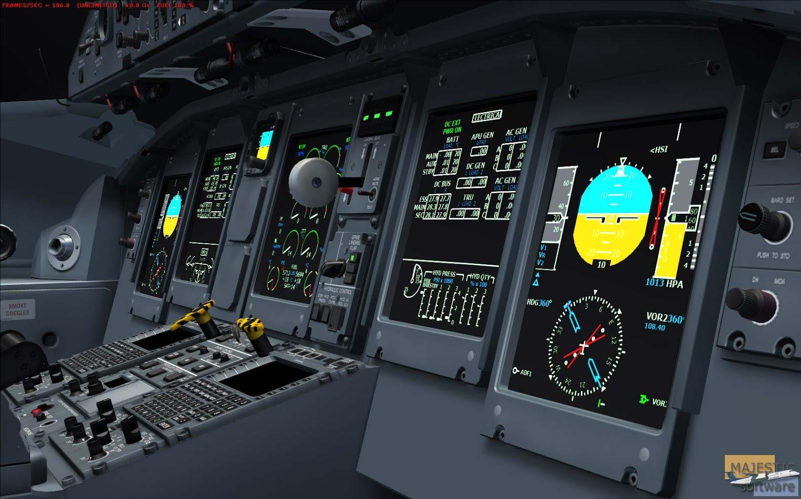 DASH 8 MAJESTIC (FSX) - Ariel Creation - Flight Simulator Addons