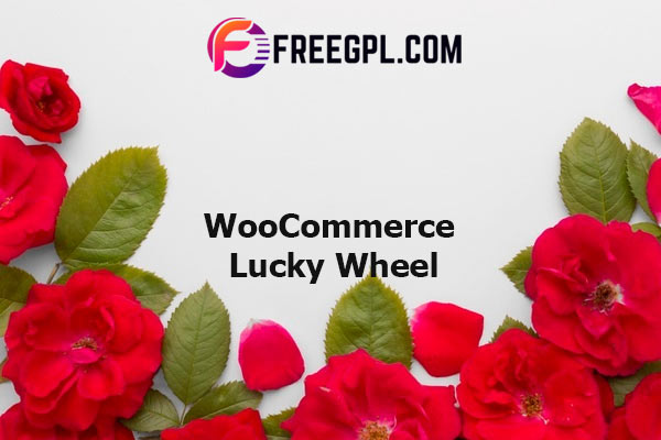 WooCommerce Lucky Wheel - Spin to win Nulled Download Free