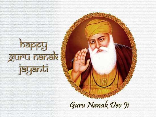 Happy Guru Nanak Dev Jayanti 2018 Wishes images