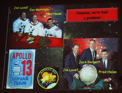 Diapositiva de Grandela Durán: Miembros del Apollo 13