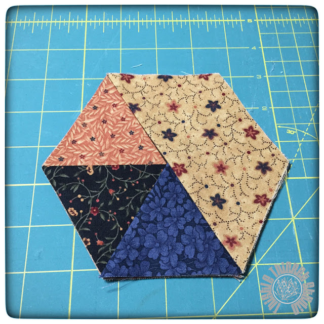 5 Minute Hexie Coasters Tutorial by Thistle Thicket Studio. www.thistlethicketstudio.com
