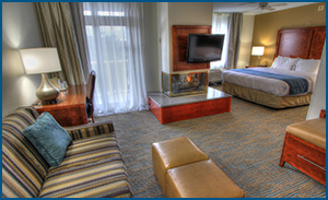 Spacious hotel rooms Pigeon Forge