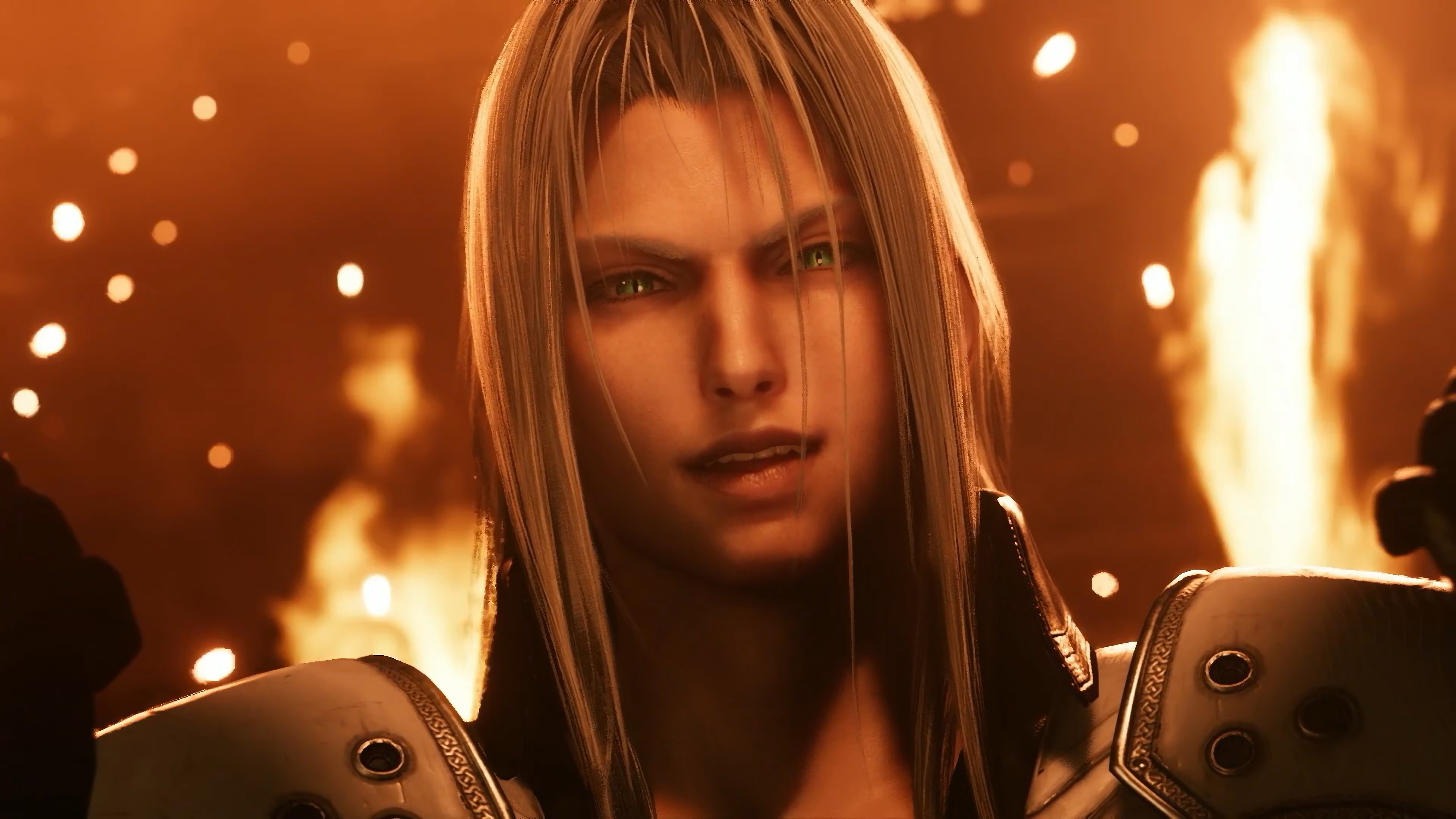 Sephiroth Final Fantasy 7 Remake 4k Wallpaper 10