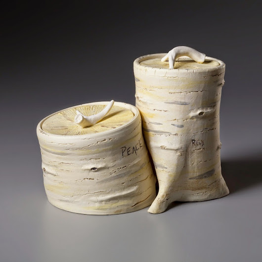 "Work for ""Southern Women Potters"" Exhibition at Hamilton Williams Gallery in Morganton"