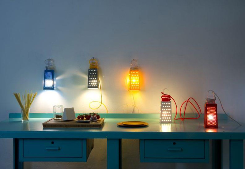 lampada da tavolo o spspensione Cacio&pepe In-es.artdesign