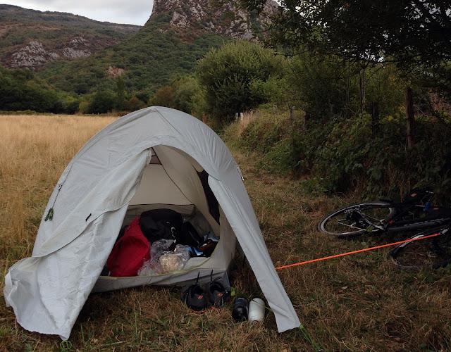 wild campsite