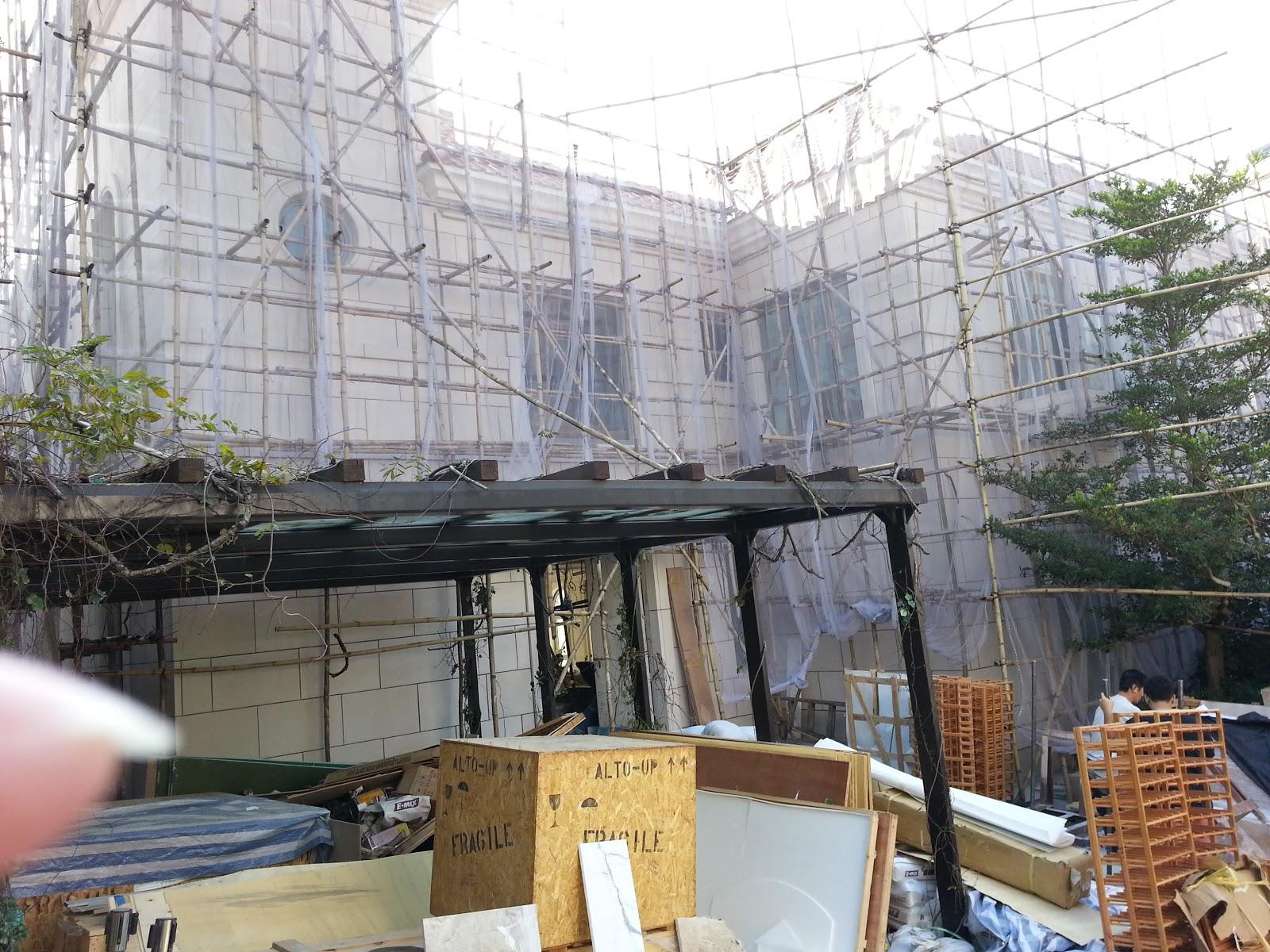 專業雲石護理公司: 布力徑 (外牆翻新&防水防污工程)