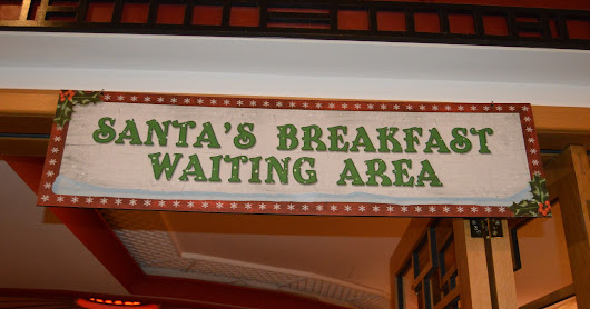 Breakfast With Santa at Alton Towers Hotel