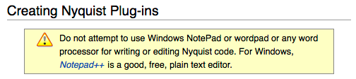 synthesizerwriter: Plain text files in macOS for Nyquist