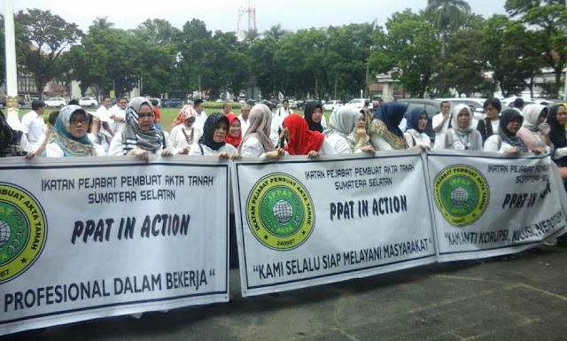 IPPAT Sumsel Tuntut Kepastian Hukum