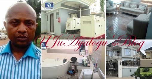 WATCH VIDEO!! Inside Notorious Billionaire Kidnapper, Evans Mansion (Photos & Video)