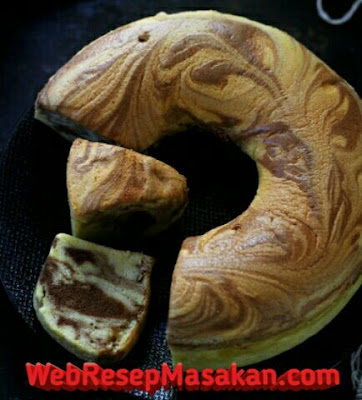Ogura marble cake, Resep ogura marble cake,
