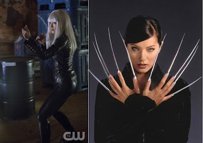 "Kelly Hu as Lady Deathstrike (R) and China White (L) Arrow Episode # 2 ""Honor Thy Father"""