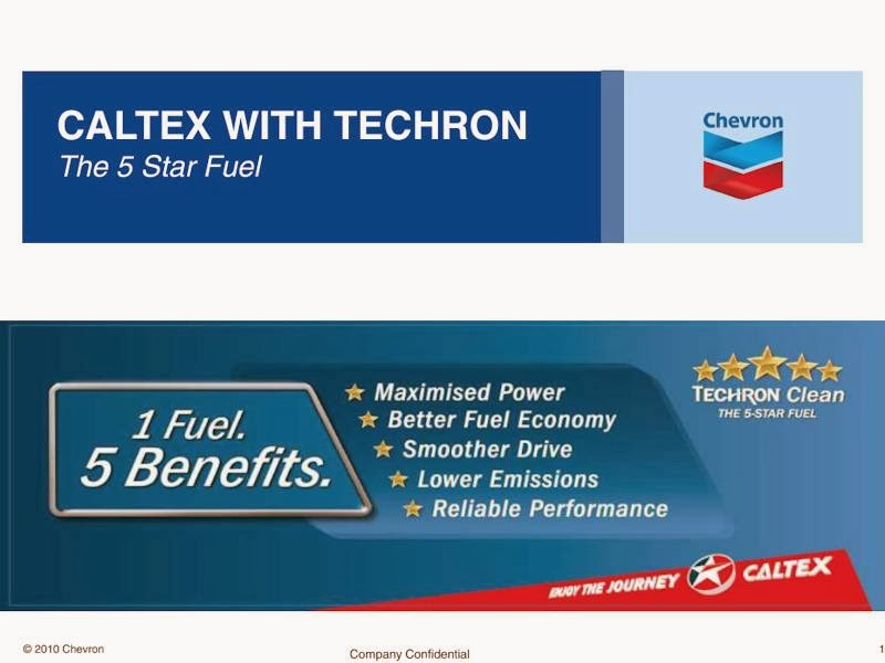 Before and After Tests Show Caltex with Techron Cleans Vital
