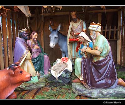 Weihnachten - Weihnachtsfotos - Weihnachtskrippe