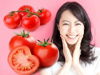 Trị mụn mủ bằng cà chua hiệu quả