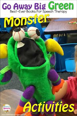 Go Away Big Green Monster: Best-Ever Books For Halloween Speech Therapy www.speechsproutstherapy.com