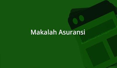 Makalah Asuransi Syariah