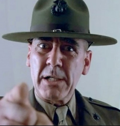 R. Lee Ermey - d. April 15th 2018 Angels? I seen maggots holier than thou. What you grinnin' so beatifically...