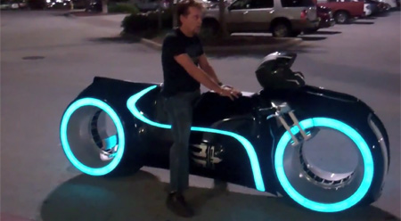 Electric Tron Lightcycle Reminds Us The Tron Movie Spicytec