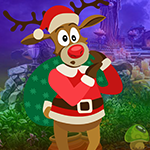 Play Games4king Christmas Deer Rescue