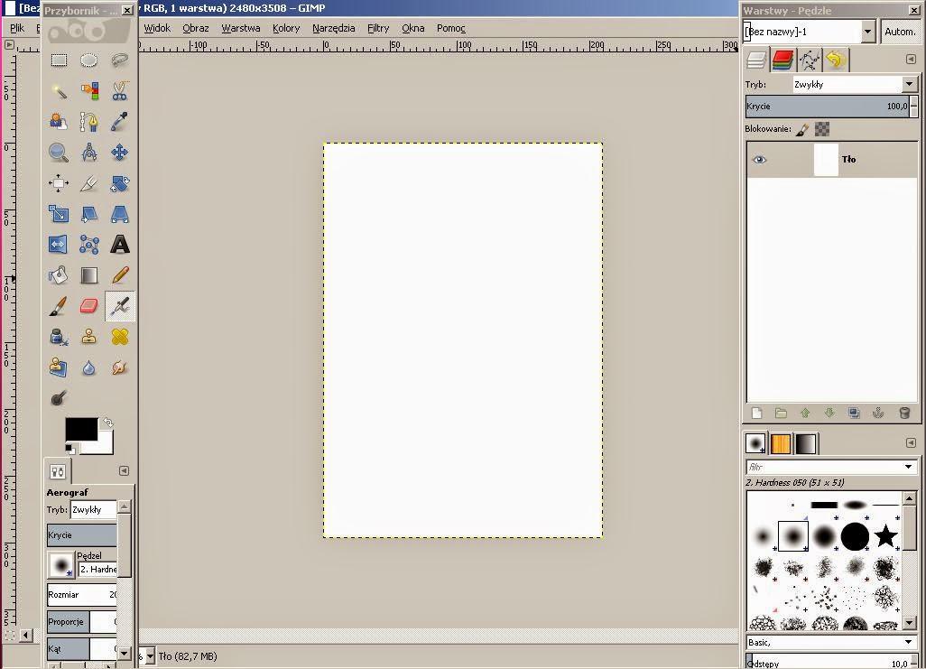 Jak Zrobić Plakat, Jak Zrobić Plakat w GIMPie