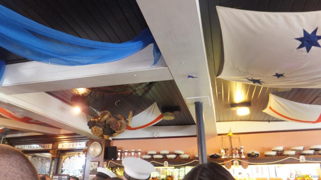 Good Friday – A few Sailors, a drink and a Hot Cross Bun