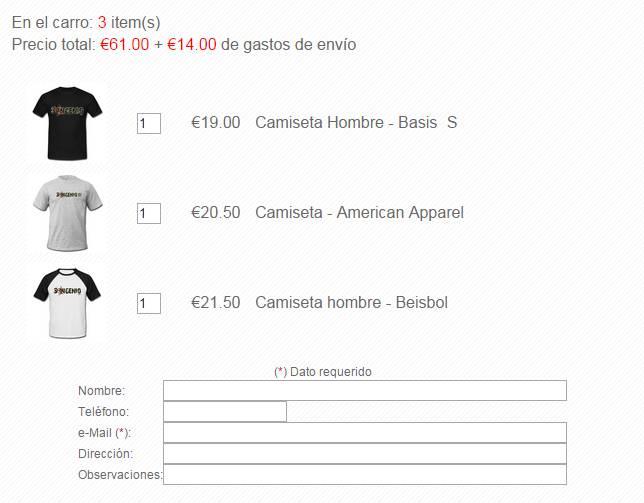 Blogger Store: Opción página para comprobación y solicitud de pedido ...