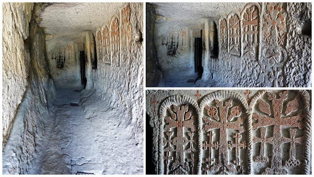 cruces monasterio geghard