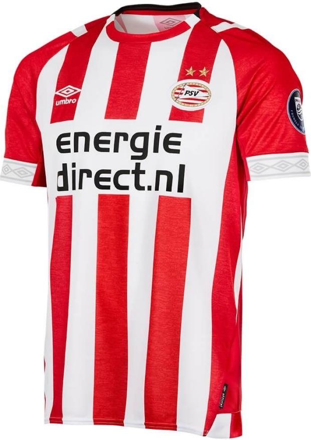 67aa30ac844b0 Umbro lança a nova camisa titular do PSV Eindhoven - Show de Camisas