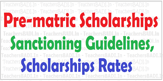AP Pre-matric Scholarships,Disabled students,Guidelines,Scholarships Rates