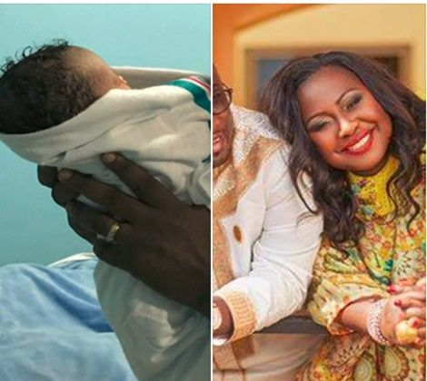 Gifty Anti Delivers 'Royal Baby' Girl