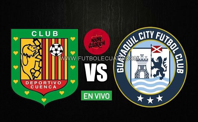 Deportivo Cuenca se mide ante Guayaquil City en vivo por la denominada Noche Colorada 2020 desde las 20:30 horario local a efectuarse en el estadio Alejandro Serrano Aguilar, con arbitraje principal de a mencionar luego con emisión del partido por nuestra web.
