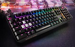 ASUScông bố mẫu bàn phím ROG Strix Scope cực chất dành cho game thủ