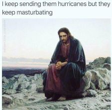 Jesus is sad