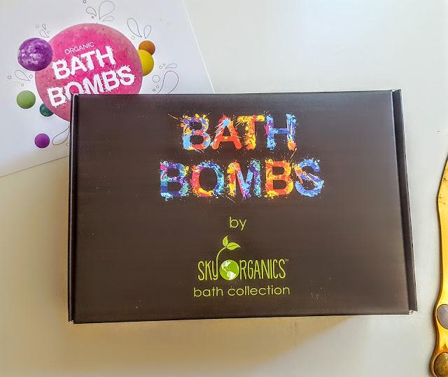 sky organics bath bombs