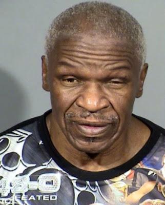 Floyd Mayweather sr father Arrest Mugshot