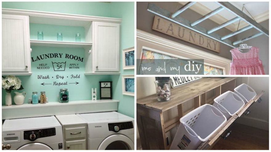 19 Laundry Room Ideas That Will Make You Actually Want To