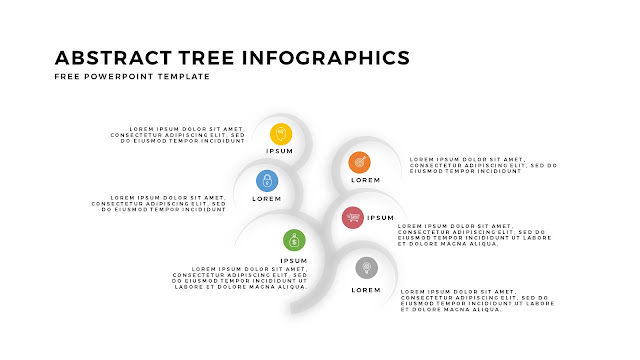 Free Tree Infographics PowerPoint Template with Design Elements Slide 3