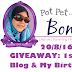 GIVEAWAY : 1st Anniversary Blog & My Birthday.