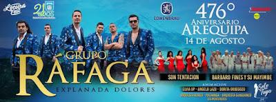Rafaga en Arequipa 2016