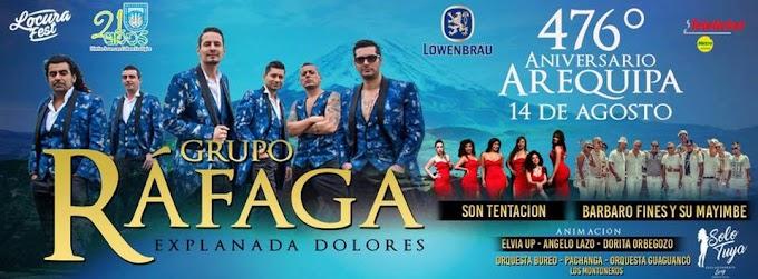 Ráfaga en Arequipa - 14 de agosto