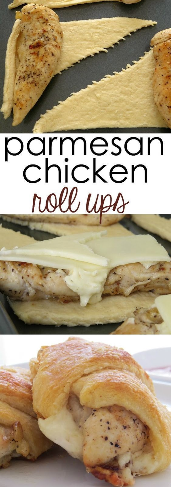 CHICKEN ROLL UPS CRESCENT ROLLS ARE FABULOUS!