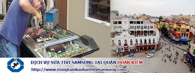 Sửa tivi samsung tại quận Hoàn Kiếm - Uy tín