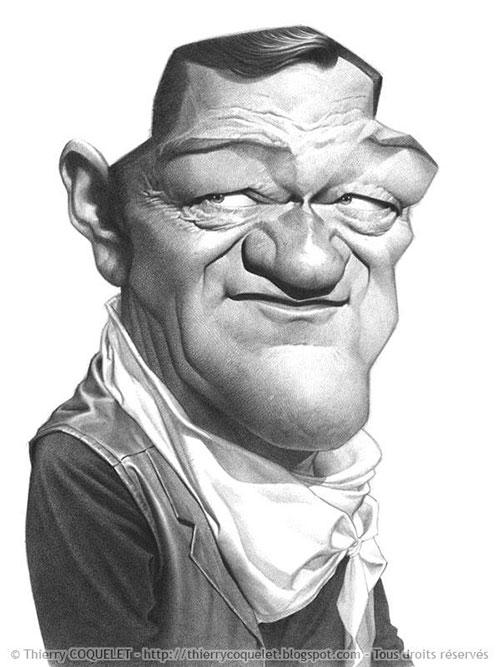 """""""John Wayne"""" por Thierry Coquelet"""