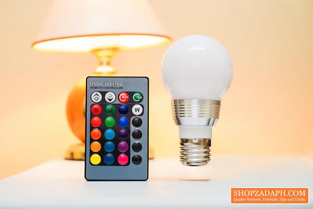 Lazada Birthday Sale -  RGB LED Bulb Lazada