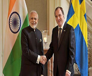 MoU Signed Between India and Sweden