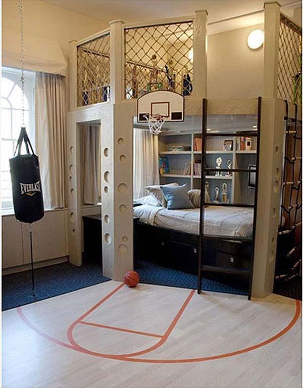 galeri 54 desain kamar tidur minimalis anak laki yang ceria
