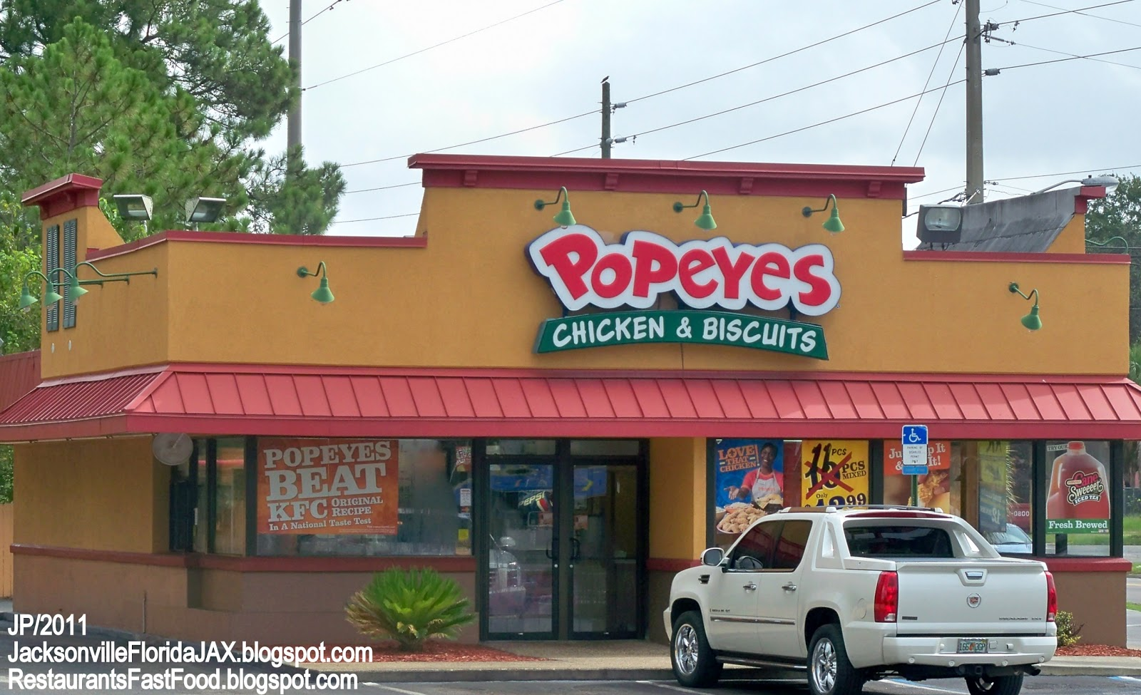 Jacksonville Florida Fast Food Restaurants