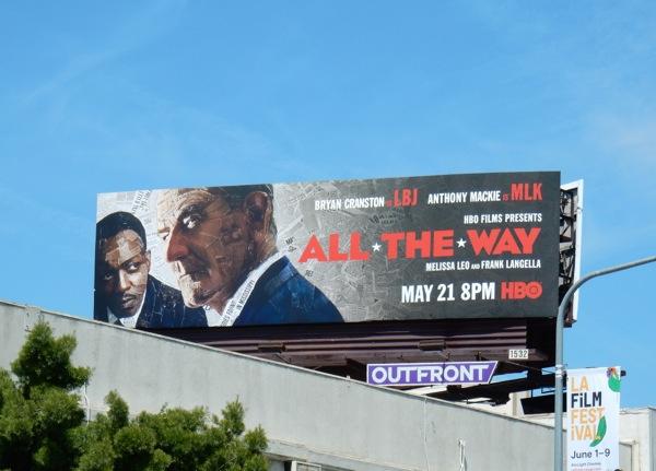 All The Way HBO film billboard